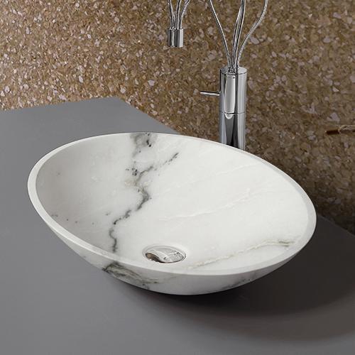 Mauro marmi pietrasanta lavandini in marmo piani cucina for Piani del bagno seminterrato