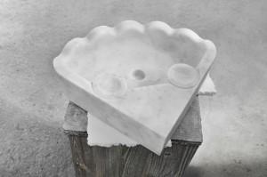Mauro Marmi_Lavabo in marmo Bianco Carrara_01