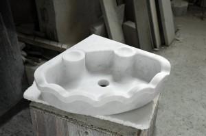 Mauro Marmi_Lavabo in marmo Bianco Carrara_03