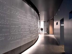 Parete degli Artisti Museo dell'Opera duomo di Firenze